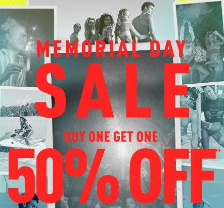 BOGO 50% Off Memorial Day Sale from PacSun