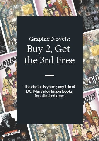 B2G3 Free Graphic Novels from Barnes & Noble Booksellers