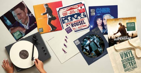Vinyl Weekend Sale from Barnes & Noble Booksellers