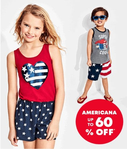 Americana up to 60% Off from The Children's Place