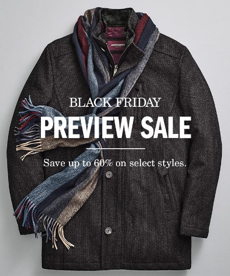 Johnston & Murphy Black Friday Preview Sale from Johnston & Murphy