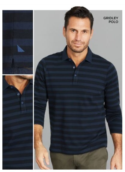Our New Striped Polo Has Arrived from UNTUCKit