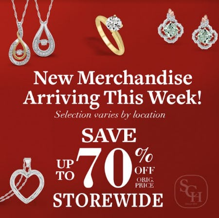 Red Tag Sale from Samuels Jewelers