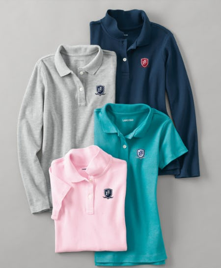 Our Softest Uniform Polos