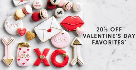 20% Off Valentine's Day Favorites from Williams-Sonoma