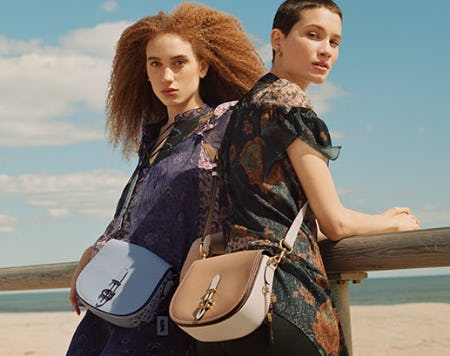 Beachy Shades and Saddle Bags from Coach