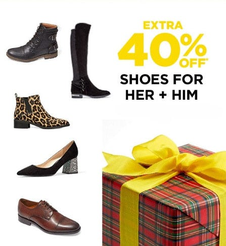 Extra 40% Off Shoes from Lord & Taylor