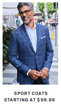 Sport Coats Starting at $99.99