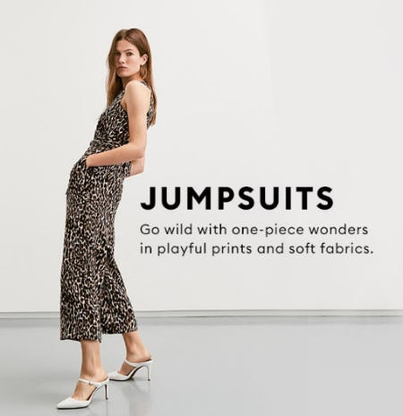 Get Spotted in this Jumpsuit from Banana Republic