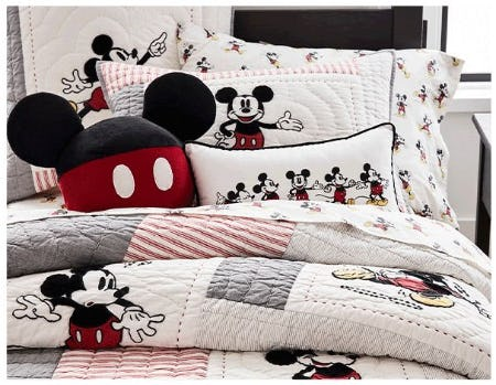 Our New Disney Mickey Mouse Collection Is Here from Pottery Barn Kids