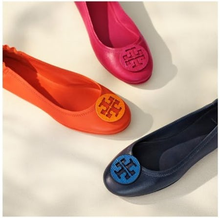90c8160c3b61f The Must-Have Minnie Ballet in New Colors at Tory Burch