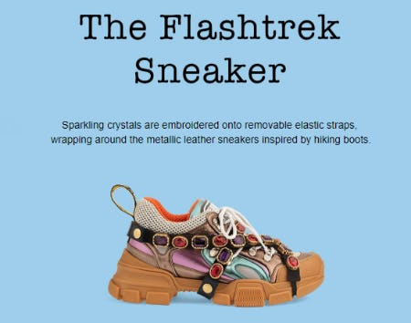 The Flashtrek Sneaker