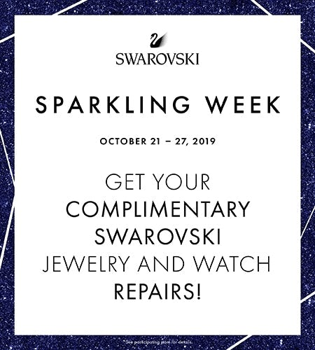 Complimentary Swarovski Jewelry and Watch Repairs