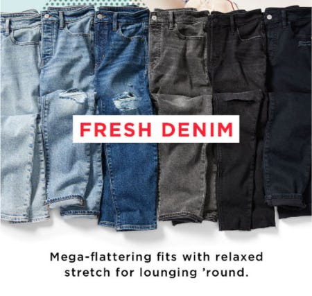Fresh Denim from Old Navy