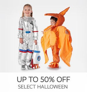 Up to 50% Off on Select Halloween