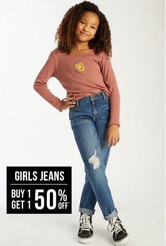 BOGO 50% Off RSQ Girls Jeans