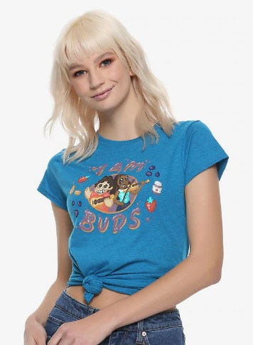 Steven Universe Jam Buds Girls T-Shirt from Hot Topic