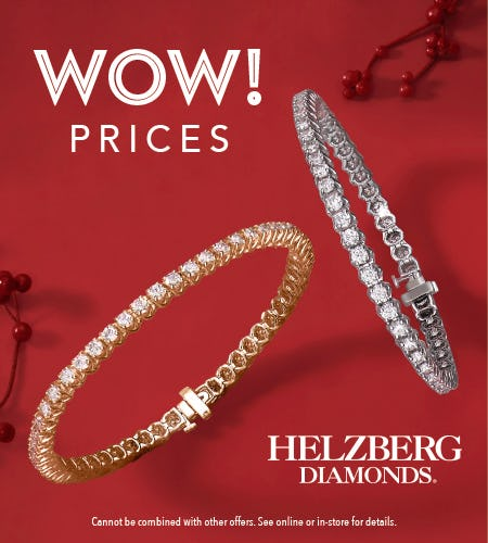 Black Friday WOW deals! from Helzberg Diamonds