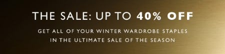 The Sale: Up to 40% Off from STUART WEITZMAN