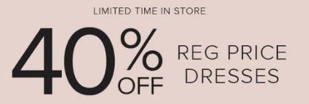 40% Off Reg Price Dresses from Torrid