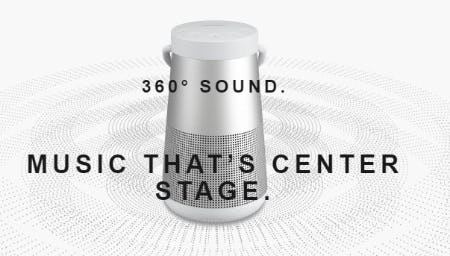 The 360 Bluetooth Speaker from Bose