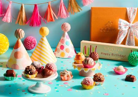 DARK CHOCOLATE TRUFFLES! from Godiva Chocolatier
