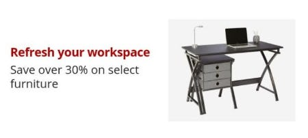 Over 30% Off Select Furniture