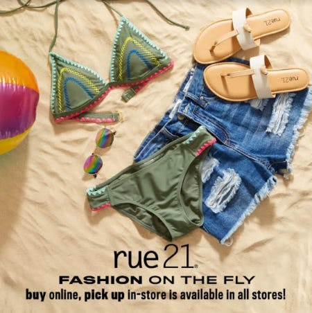 Fashion on the Fly from rue21