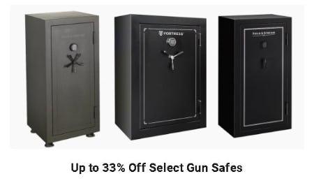 Up to 33% Off Select Gun Safes