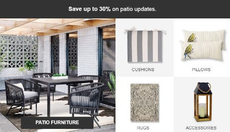 Save Up to 30% Patio Furniture from Target