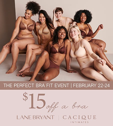 The Perfect Bra Fit Event from Lane Bryant