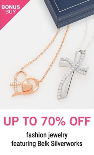 Up to 70% Off Fashion Jewelry from Belk