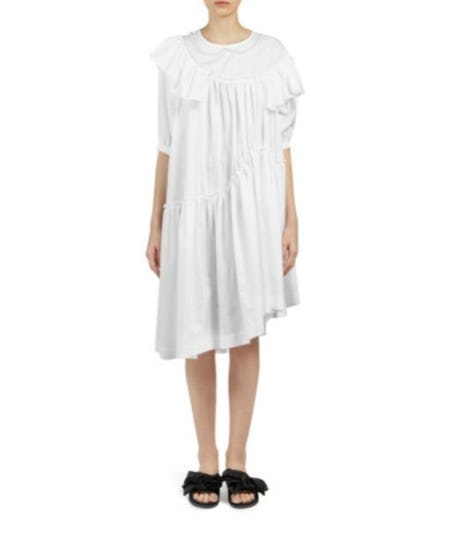 Simone Rocha Beaded Frill Dress