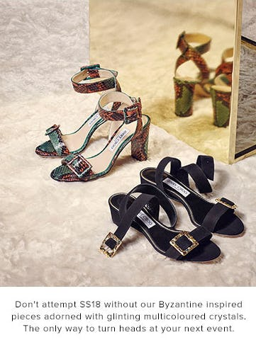 Byzantine Inspired Pieces from Jimmy Choo