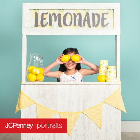 Lemonade Stand Photography Event from JCPenney Portraits
