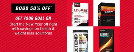 BOGO 50% Off from GNC