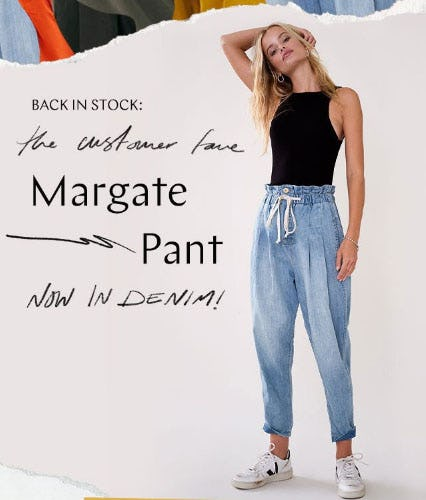 Back In Stock: Margate Pant from Free People