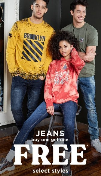 Jeans Buy One, Get One Free from rue21