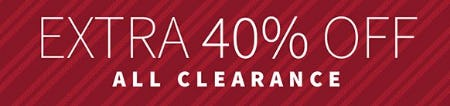 Extra 40% Off All Clearance