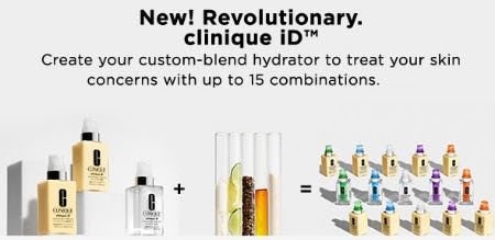 New! Revolutionary Clinique iD from Lord & Taylor