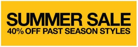 Summer Sale 40% Off from The North Face