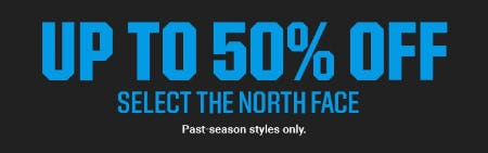 Up to 50% Off Select The North Face
