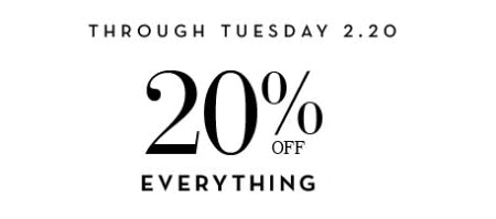 20% Off Everything from Z Gallerie