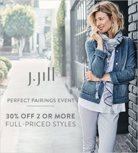 30% off* Two or More Full-Priced Styles from J.Jill