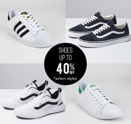 Shoes Up to 40% Off from Tillys