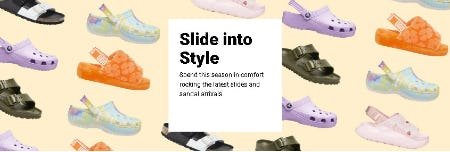 Slide Into Style from Foot Locker