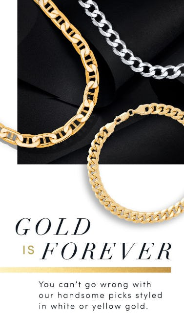 Gold is Forever from Jared Galleria Of Jewelry