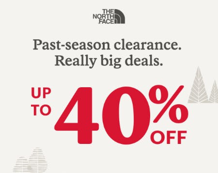 Up to 40% Off on Our Past-Season Clearance from REI