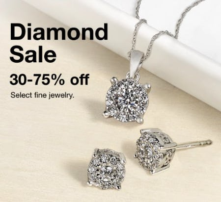 Diamond Sale: 30-75% Off