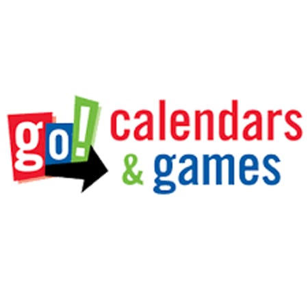 Go! Calendars/Go! Games Logo